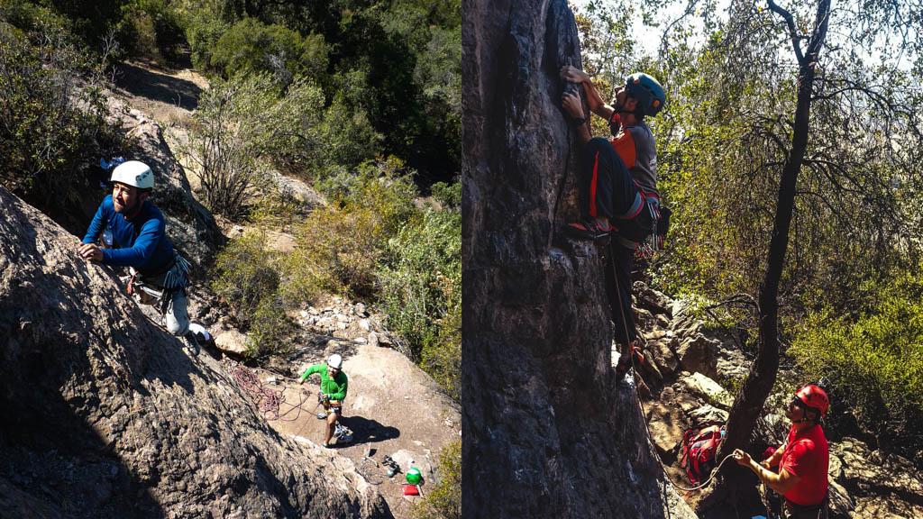 malku escuela outdoor curso escalada deportiva