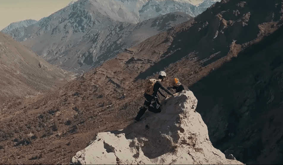 Video de Escalada en Las Melosas